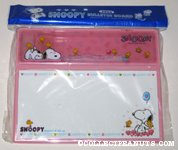 Snoopy & Woodstock Paper Pad and Tray