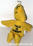 Woodstock 'Talk is Cheep!' Bean Bag Doll