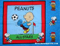 Peanuts All-stars Pillow