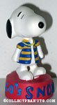 Snoopy wearing striped shirt '1960's' Figurine