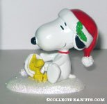 'Happy Holidays Snoopy & Woodstock' Figurine