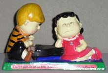 Schroeder and Lucy at Piano Figurescene