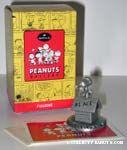 Peanuts & Snoopy Hallmark Peanuts Gallery Pewter Figurines