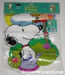 Snoopy & Woodstock 'Birdhouse Buddies' Mini Flag
