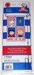 Peanuts Gang 'Hurray for the USA' Flag