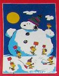 Snoopy Snowman
