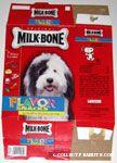 Dancing Snoopy on Milkbone Flavor Snacks Box