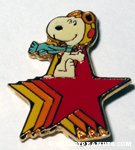 Peanuts & Snoopy Monogram Pins