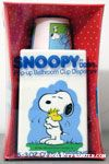 Snoopy hugging Woodstock Dixie Cup Dispenser