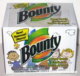 Bounty Paper Towel Box