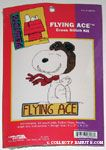Snoopy as Flying Ace Cross-stitch Kit