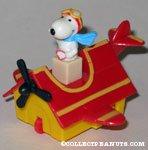 Peanuts & Snoopy McDonald's Popmobiles