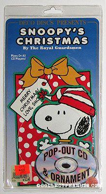Snoopys Christmas.Peanuts Compact Discs Collectpeanuts Com