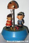 Charlie Brown and Lucy under mushroom tree Musical
