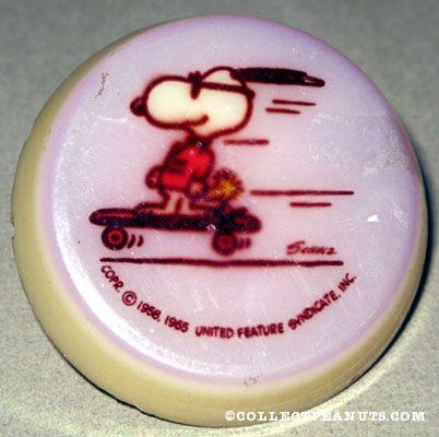 Joe Cool & Woodstock on Skateboard Nightlight