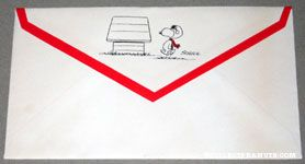 Snoopy Flying Ace Envelope