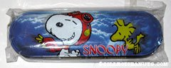Snoopy Flying Ace & Woodstock Metal Box Pencil Case