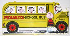 Peanuts School Bus