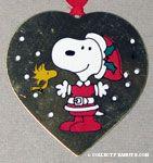Peanuts & Snoopy Leonard Silver Ornaments