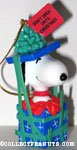 Snoopy in Gift Box Ornament