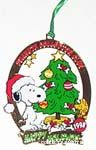 Peanuts & Snoopy Collector's Club Ornaments