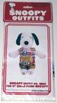 Snoopy Comic Overalls