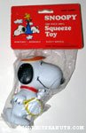 Snoopy Tennis Racket Squeaky Toy