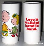Love is walking hand in hand Vase