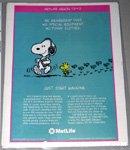 Snoopy walking with Woodstock Metlife Magazine Ad
