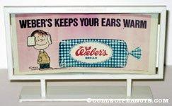 Linus 'Weber's Keep your Ears Warm' Weber's Bread Billboard Mockup