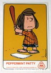 Peppermint Patty Dolly Madison Baseball Card