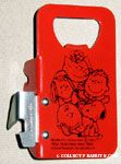 Peanuts Gang Bottle Opener