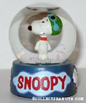 Snoopy Flying Ace Snowglobe
