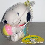 Snoopy as baby holding ball Squeaky Toy