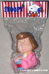 Baby Peppermint Patty with drum Squeaky Toy