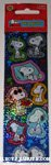 Snoopy Poses Stickers