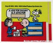 Linus and Charlie Brown Ballot Box