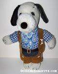 Snoopy Cowboy Sheriff Outfit