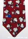Santa Snoopy Necktie