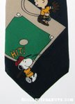 Peanuts Gang playing baseball Necktie