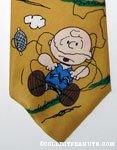 Charlie Brown with Kite Necktie