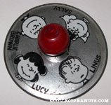 Lucy, Charlie Brown, Sally and Linus Cymbal