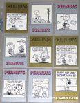 Peanuts Classics Series 2, 289-297 Trading Cards
