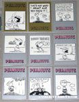 Peanuts Classics Series 2, 370-378 Trading Cards