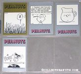 Peanuts Classics Series 2, 397-400 Trading Cards
