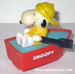 Snoopy in Rowboat
