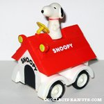 Snoopy on Doghouse Friction Car