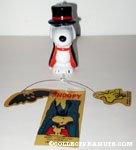 Snoopy Dracula Ceramic Windchime