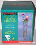 Charlie Brown flying Kite