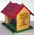 Peanuts & Snoopy Bird Houses